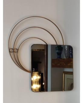 Specchio ottone bronzato...